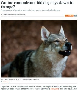 Canine conundrum_ Did dog days dawn in Europe? | Ars Technica
