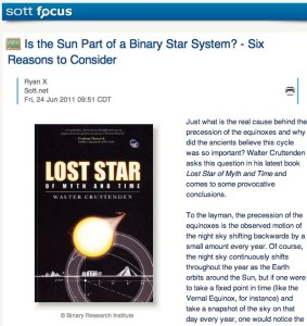 Is the Sun Part of a Binary Star